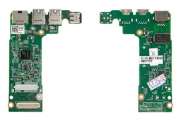 Dell Vostro 3350 gyári új laptop DC tápaljzat, USB/RJ45/WWAN panel (DN13)