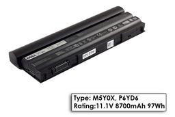 Dell Inspiron N7520 laptop akkumulátor, gyári új, 9 cellás (8500-8550mAh)