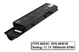 Dell Vostro 3400, 3500, 3700 gyári új 9 cellás laptop akku/akkumulátor (TYPE 04D3C, DPN 0R5PJR)
