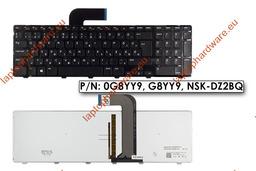 Dell XPS 16, XPS 1645, 1647, 1340, 1640, gyári új háttér-világításos magyar laptop billentyűzet (0T078D)