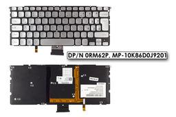 Dell XPS 14z, 15z, L412z gyári használt német LED háttér-világításos laptop billentyűzet (DPN 0RM62P)
