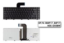 Dell Inspiron 15 N5050 fekete US angol laptop billentyűzet