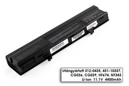Dell XPS M1210 helyettesítő új 6 cellás laptop akku/akkumulátor (CG036)