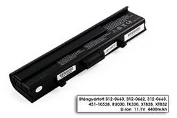 Dell XPS M1530 helyettesítő új 6 cellás laptop akku/akkumulátor (TK330)