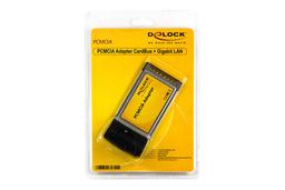 Delock PCMCIA 10/100/1000 Mbps Gigabit LAN kártya