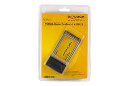 Delock PCMCIA bővítő kártya  2 x USB 2.0, 61604