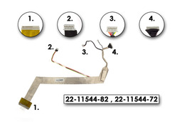 Fujitsi-Siemens Amilo Li1705 laptophoz használt LCD kábel, 22-11544-82