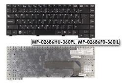 Fujitsu Amilo Li1818, Li1820 Gyári Új magyar laptop billentyűzet
