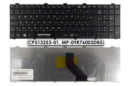 Fujitsu LifeBook A512, A530 gyári új magyar fekete laptop billentyűzet (CP513253-01, MP-09R76003D85)