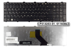 Fujitsu LifeBook A531, AH530, AH531 gyári új magyar fekete laptop billentyűzet (CP513253-01, 01183862)