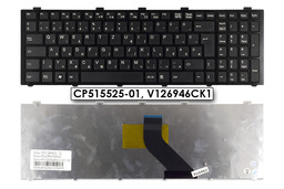 Fujitsu LifeBook A531, AH530, AH531 gyári új magyar fekete laptop billentyűzet, CP515525-01, V126946CK1