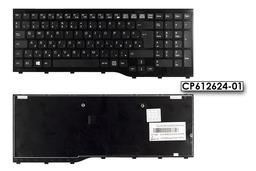 Fujitsu LifeBook AH552 használt magyar fekete laptop billentyűzet, CP612624-01