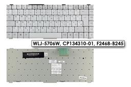 Fujitsu-Siemens LifeBook E4010 szürke magyar laptop billentyűzet