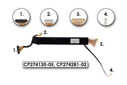 Fujitsu Lifebook E8110 használt kijelző kábel, CP274130-05