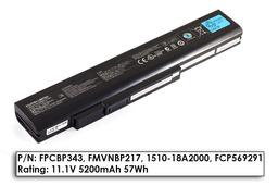 Fujitsu LifeBook N532, NH532 gyári új 6 cellás laptop akku/akkumulátor (FPCBP343)