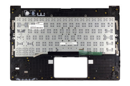 Fujitsu Lifebook U772 használt fekete-piros laptop billentyűzet modul (CP568940-01)