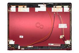 Fujitsu Lifebook UH552, UH572 gyári új piros laptop LCD hátlap (13.3'') (CP574642-XX)