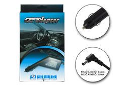 Autós laptop töltő 19V 4.74A 90W helyettesítő új (PA-1900-05, LSE0202D2090)