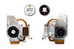 Fujitsu-Siemens Amilo A1630 használt laptop hűtő ventilátor (40-UF3040-10, BS6005LB-R)