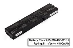 Fujitsu-Siemens Amilo Pro V2020 laptop akkumulátor, használt, 6 cellás (4400mAh)