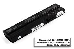 Fujitsu-Siemens Amilo A1640, PI1536, Amilo Pro V2020 helyettesítő új 6 cellás laptop akku/akkumulátor (255-3S4400-S1S1)
