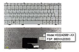 Fujitsu-Siemens Amilo A1655, A1655G, L1310 használt magyar fehér laptop billentyűzet(L1310GK022429B1-XX HG)