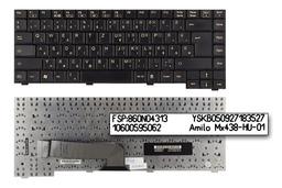 Fujitsu-Siemens Amilo M3438G fekete magyar laptop billentyűzet