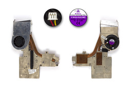 Fujitsu-Siemens Amilo A3667, A3667G használt komplett laptop hűtő ventilátor egység (40GP71040-00)