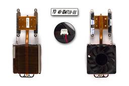 Fujitsu-Siemens Amilo A7620, D8830, L6820 használt komplett laptop hűtő ventilátor egység (FS7005M2B, FD057010HB)