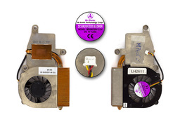 Fujitsu-Siemens Amilo A7645, M7405, M7424, M7425, Amilo Pro V2020 használt laptop hűtő ventilátor (40-UG5040-00)