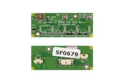 Fujitsu-Siemens Amilo D7830 A7620 L6820 használt bekapcsoló panel (35-UD4050-00C)