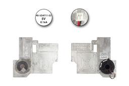 Fujitsu-Siemens Amilo D7850, L6825 használt komplett laptop hűtő ventilátor egység (40-UD4711-03)