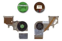 Fujitsu-Siemens Amilo EL sorozathoz használt komplett laptop hűtő ventilátor egység (YD 40-U74712-20(D))