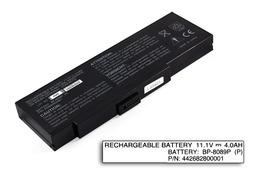 Fujitsu-Siemens Amilo K7600, K7610, Packard Bell EasyNote E1 használt 6 cellás 75%-os laptop akku/akkumulátor (BP-8089P)