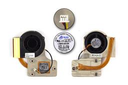 Fujitsu-Siemens Amilo L1300, L7310 laptophoz használt komplett hűtés (340680900031 R04)