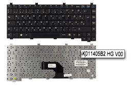Fujitsu-Siemens Amilo L7300 használt magyar laptop billentyűzet (K011405B2 HG V00)