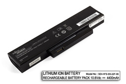 Fujitsu-Siemens Amilo La1703, Esprimo V5515, V5555 használt 6 cellás 25%-os laptop akku/akkumulátor (SDI-HFS-SS-22F-06)