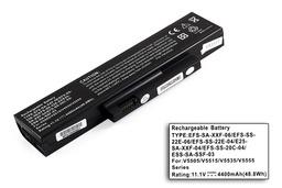 Fujitsu-Siemens Esprimo V5535 laptop akkumulátor, új, gyárival megegyező minőségű helyettesítő, 6 cellás (4400-5200mAh)