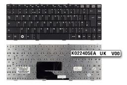 Fujitsu-Siemens Amilo Li1705 fekete UK angol laptop billentyűzet