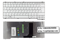Fujitsu-Siemens Amilo Li3710, Pa3515, Pi3560 gyári új magyar fehér laptop billentyűzet (V080228BK1 HG)