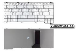Fujitsu Amilo Li3710, Pa3515, Pi3560 gyári új US angol fehér laptop billentyűzet (V080229CK1-XX, V080229CS1)