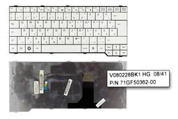 Fujitsu-Siemens Amilo Li3710, Pa3515, Pi3560 használt magyar fehér laptop billentyűzet (V080228BK1 HG)