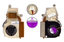 Fujitsu-Siemens Amilo M1405 használt komplett laptop hűtő ventilátor egység (BP430705)