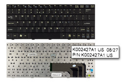 Fujitsu-Siemens Amilo M1437 gyári új US angol fekete laptop billentyűzet (K002427A1)