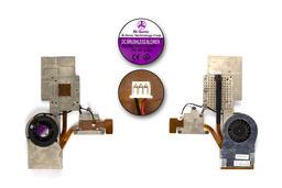 Fujitsu-Siemens Amilo M1437G, M1439G, Pi1536, Pi1556 használt laptop hűtő ventilátor (40GP53040-02)