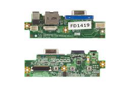 Fujitsu-Siemens Amilo M6450G laptophoz használt VGA/LAN/DC panel 35G5M5000-C0