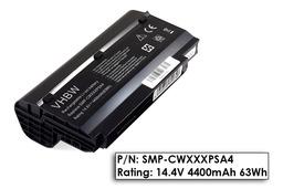 Fujitsu-Siemens Amilo Mini UI3520, UI3540, LifeBook M1010 helyettesítő használt 50%-os 8 cellás laptop akku/akkumulátor (SMP-CWXXXPSA4)