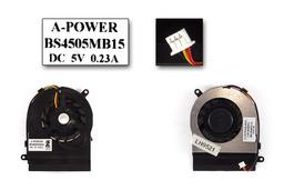 Fujitsu-Siemens Amilo Pa1510, Pa2510, Pi1505, Li1818, Li1820 gyári új laptop hűtő ventilátor (BS4505MB15)