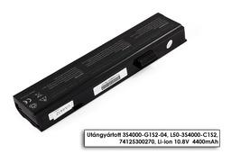 Fujitsu-Siemens Amilo PA1510, PI1505, LI1818 helyettesítő új 6 cellás laptop akku/akkumulátor (L50-3S4000-C1S2)