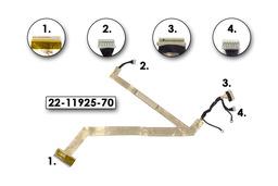 Fujitsu-Siemens Amilo Pa1538 laptophoz használt LCD és inverter kábel(22-11925-70)